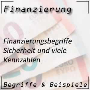 Finanzierungskennzahlen und ihre Funktion
