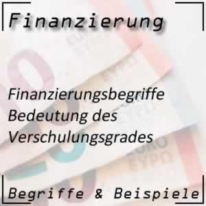 Kennzahlen Verschuldungsgrad