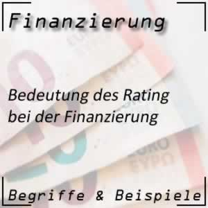 Rating in der Finanzierung