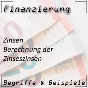Zinseszinsen berechnen