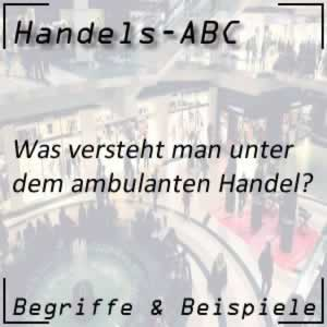Ambulanter Handel