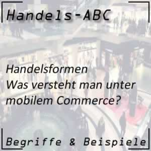 Handelsformen Mobile Commerce