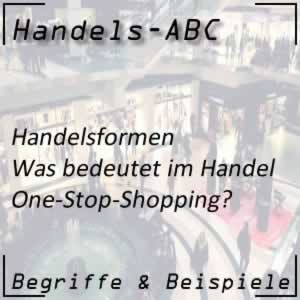 Handelsformen One-Stop-Shopping