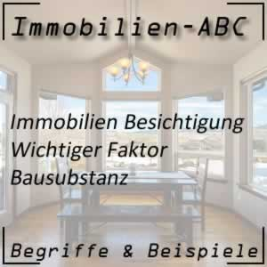 Immobilien Bausubstanz