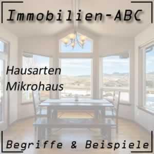 Immobilien Haustyp Mikrohaus