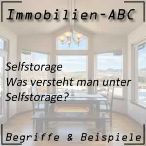 Immobilien Self Storage