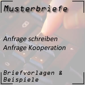 Anfrage Kooperation