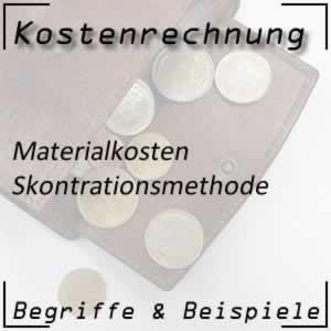 Kostenartenrechnung Materialkosten Skontrationsmethode