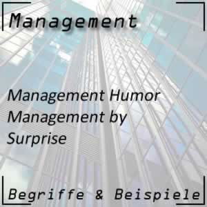 Management by Surprise