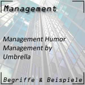 Management by Umbrella