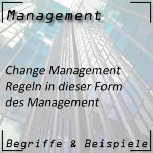 Change Management Regeln
