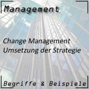 Change Management Umsetzung