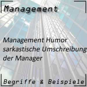 Management Humor Managerwitze