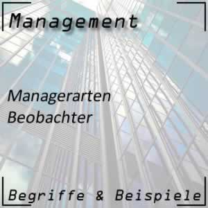 Manager Beobachter
