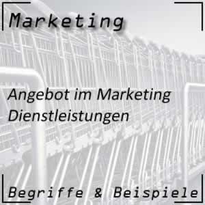 Marketing Dienstleistungen