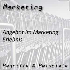 Marketing Erlebnis