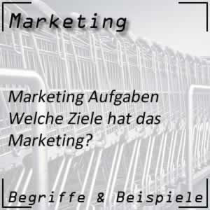 Marketing Ziele
