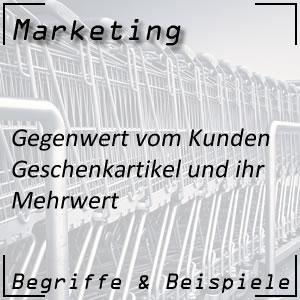 Geschenkartikel für das Marketing nutzen