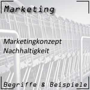 Marketingorientierung Nachhaltigkeit