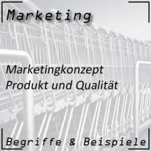 Marketing Produktorientierung