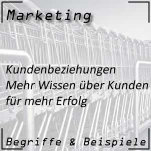 Marketing Kundenbeziehungen