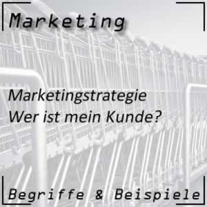 Marketing Marketingstrategie