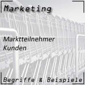 Marktteilnehmer Kunden