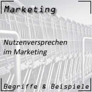 Marketing Nutzenversprechen