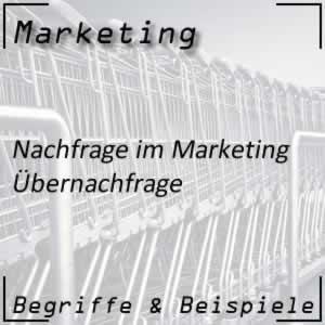 Marketing Übernachfrage