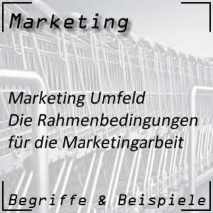 Marketing Umfeld