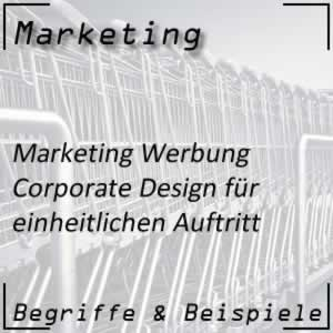 Marketing Werbung Corporate Design