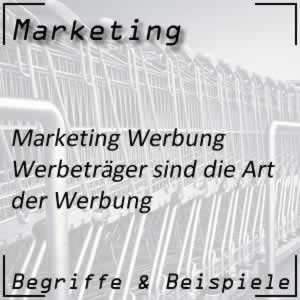 Marketing Werbeträger