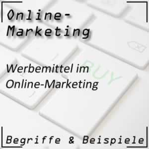 Online Marketing Werbemittel