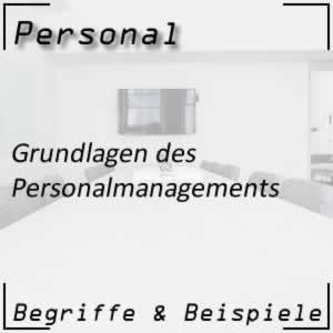 Grundwissen zum Personalmanagement