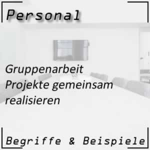 Personal Gruppenarbeit