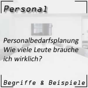 Personal Personalbedarfsplanung