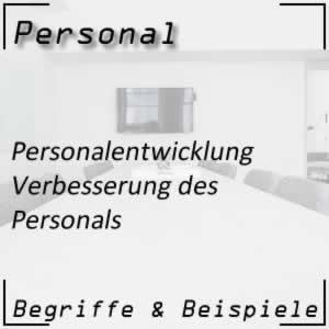 Personal Personalentwicklung