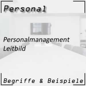 Personalmanagement Leitbild