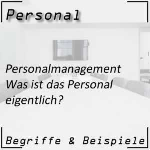 Personalmanagement Personal