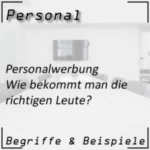 Personalwerbung
