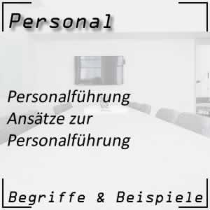 Personal Personalführung Ansätze
