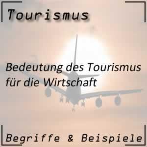 Tourismus Einführung