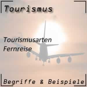 Tourismus Fernreise
