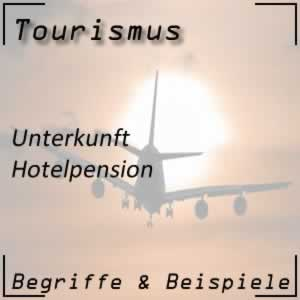 Tourismus Hotelpension