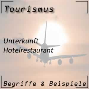 Tourismus Hotelrestaurant