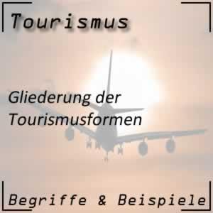 Tourismus Tourismusformen