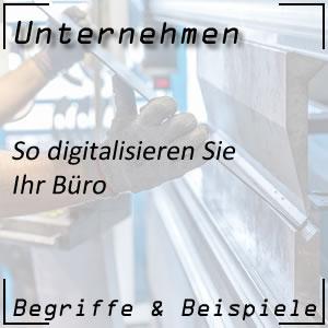 Büro digitalisieren