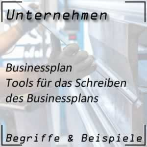 Businessplan Tools