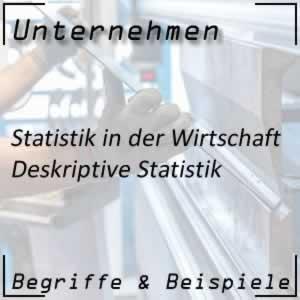 deskriptive Statistik im Unternehmen