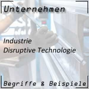 Industrie Disruptive Technologie
